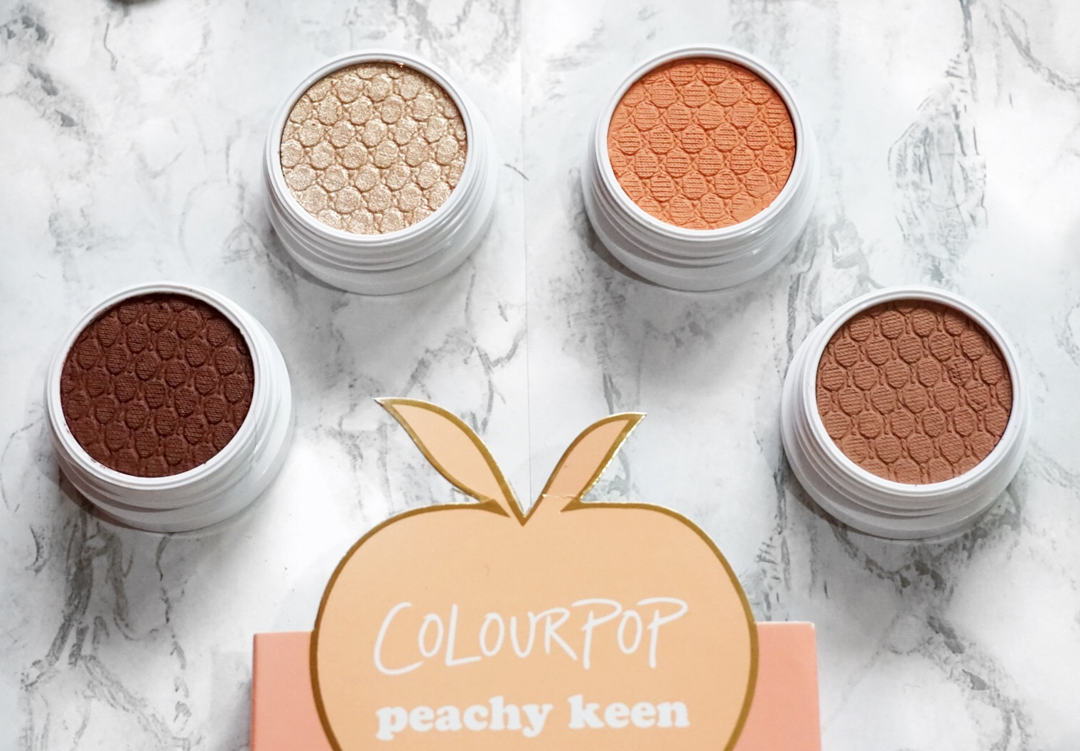 Colourpop Peachy Keen Eyeshadow Foursome