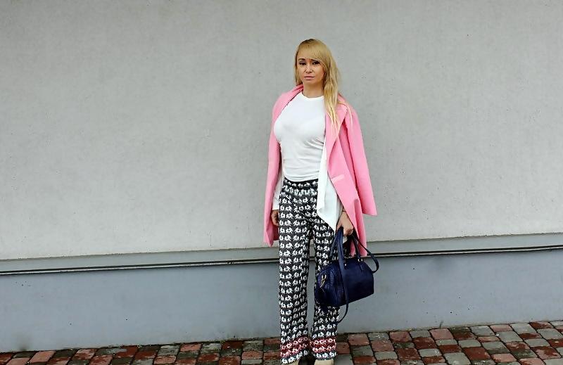 """Shopping in Rosegal and Trendsgal: """"Пижамные"""" брюки со слониками (принт) / обзор, отзывы"""