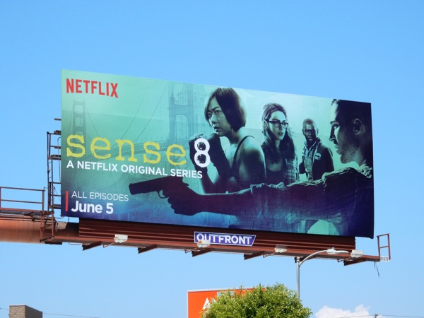 Sense 8 Netflix series billboard