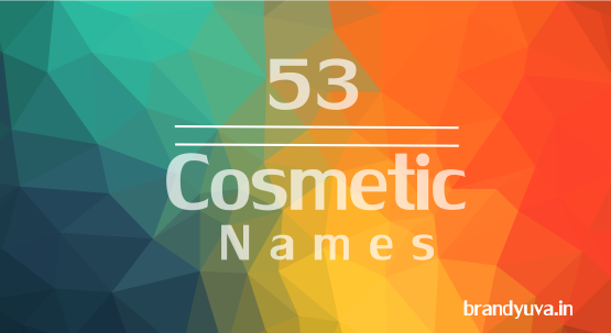Cosmetics company names idea