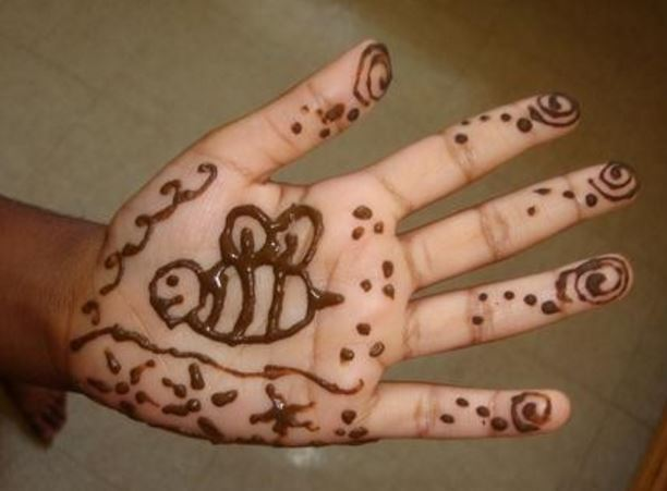 Easy Mehndi Designs For Hands Images