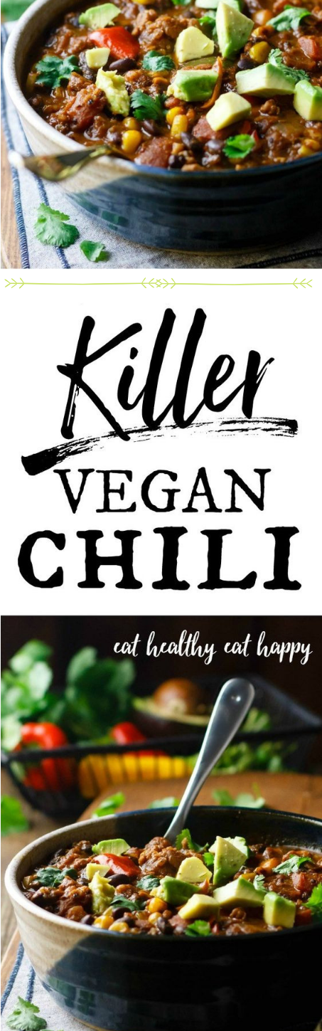 KILLER VEGAN CHILI #diet #chili
