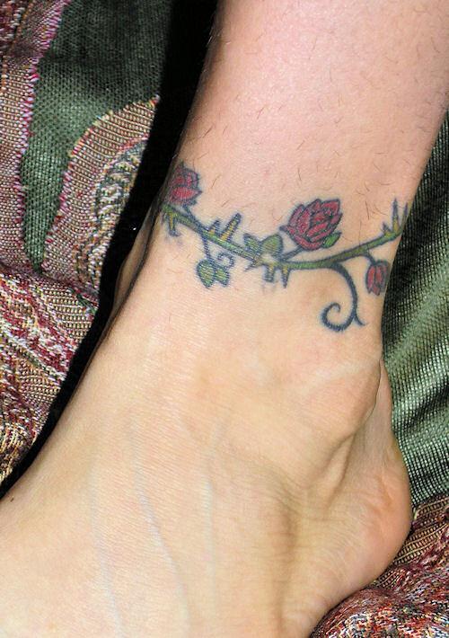 ankle roseivy