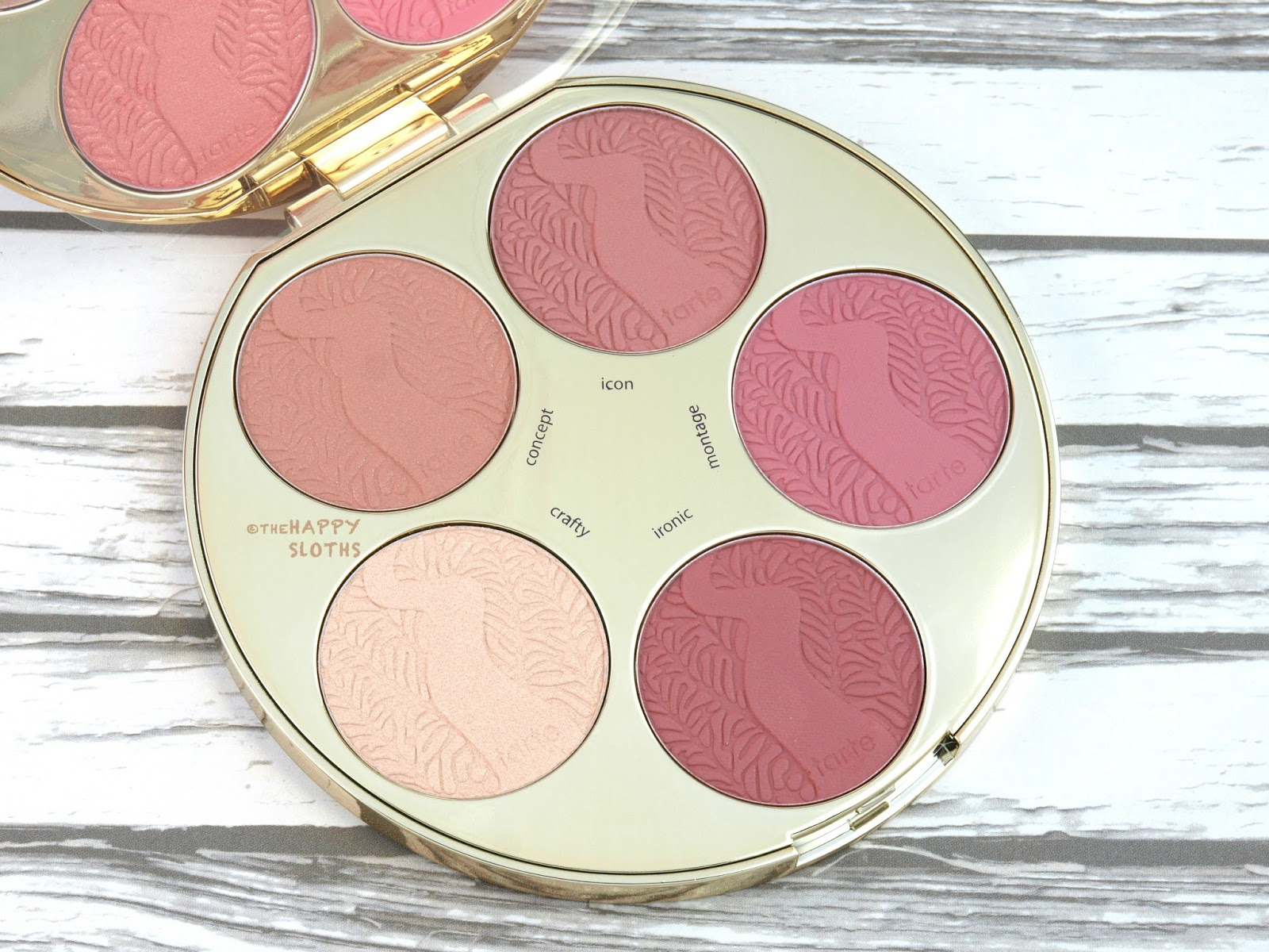 Tarte Color Wheel Amazonian Clay Blush Palette: Review and Swatches