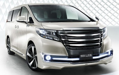 Toyota Alphard  front look image
