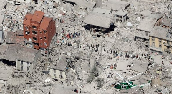 Death Toll Of Italy 2016 Earthquake