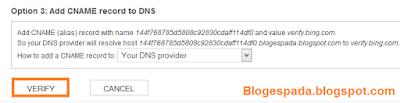 Cara Daftar dan Submit Sitemap di BING 8