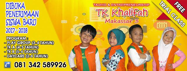 Foto TK Khalifah Makassar