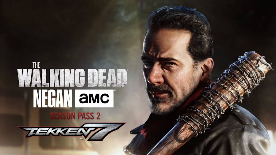 Tekken 7 Negan the walking dead dlc