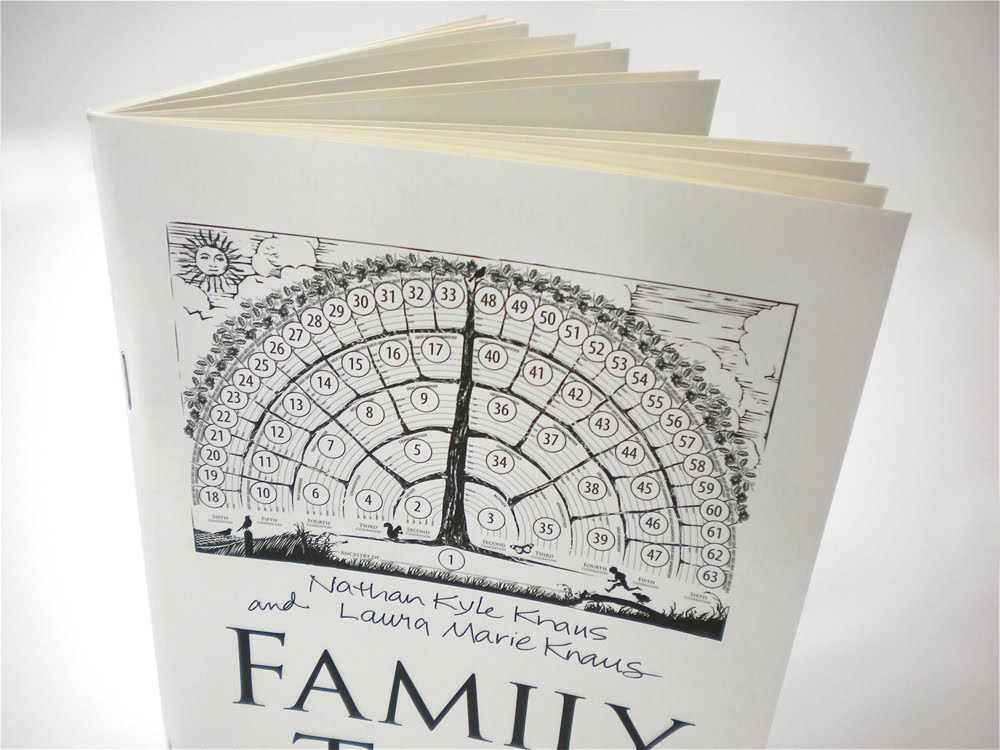 Family Tree Notebook Print Edition