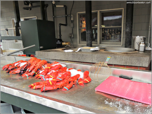 Lobster Shacks en Massachusetts: Langostas del Woodman's of Essex