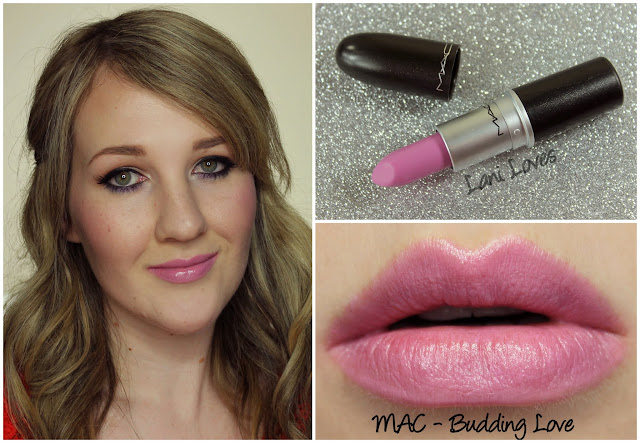MAC Budding Love Lipstick swatch