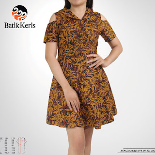 model sackdress batik modern