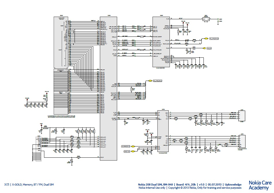 new nokia schematics  manual service download  imobilecat, schematic