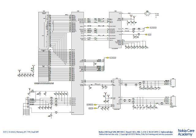 schematic diagram nokia x1 01