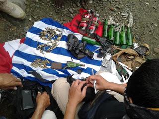 Markas KNPB Timika di gledah, Ratusan Amunisi dan Senjata Api Disita Aparat