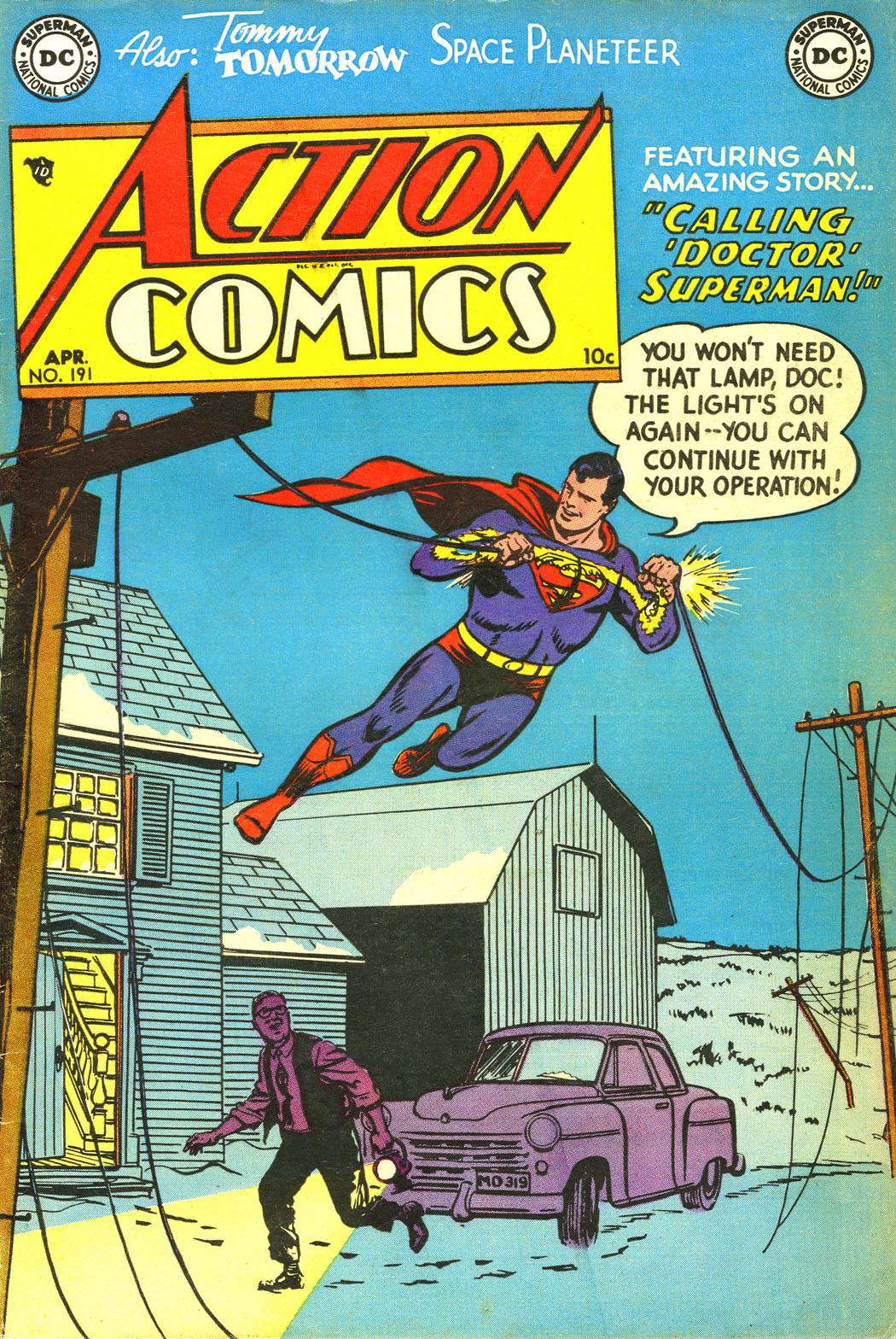 Action Comics (1938) 191 Page 1