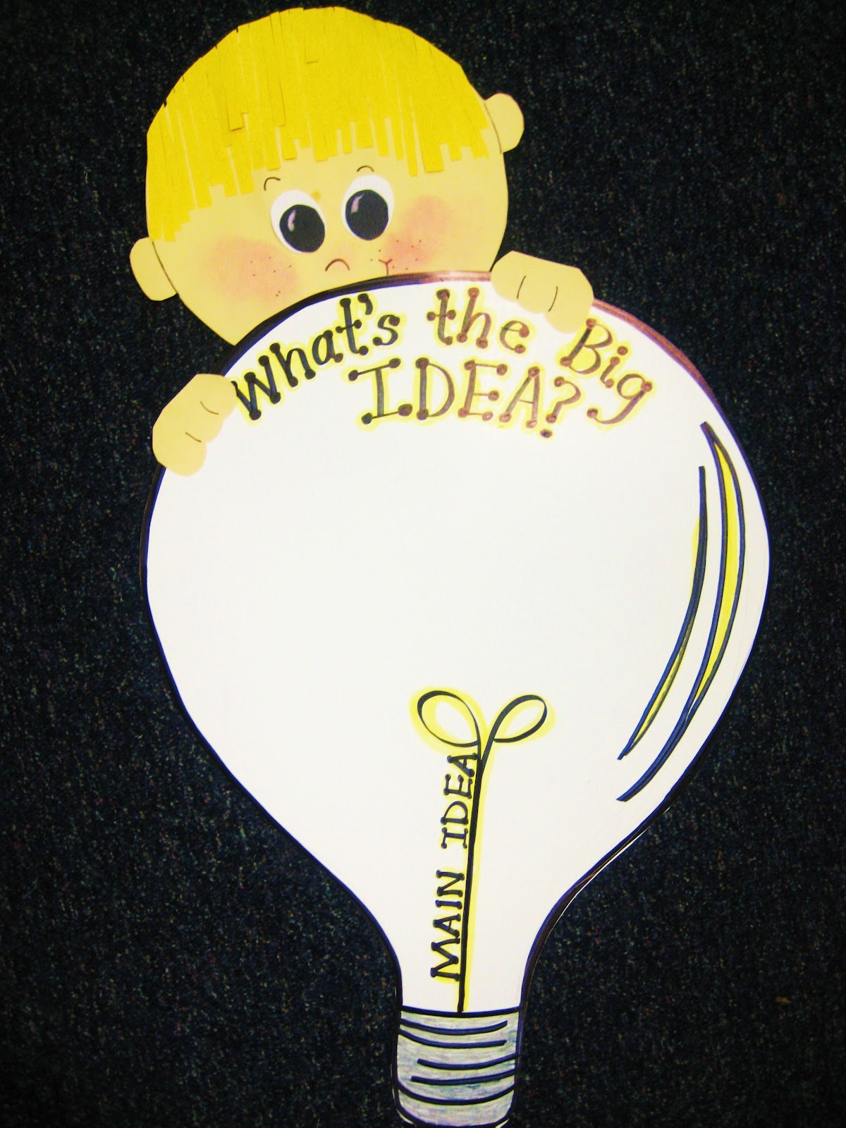 First Grade Wow What S The Big Idea