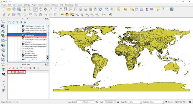Cara Membuat Peta Style Kategori menggunakan QGIS