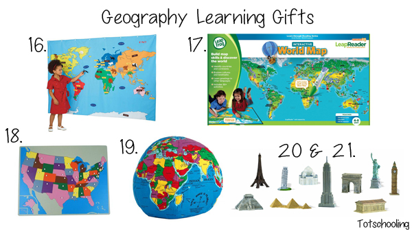 Geography Learning Gift Guide