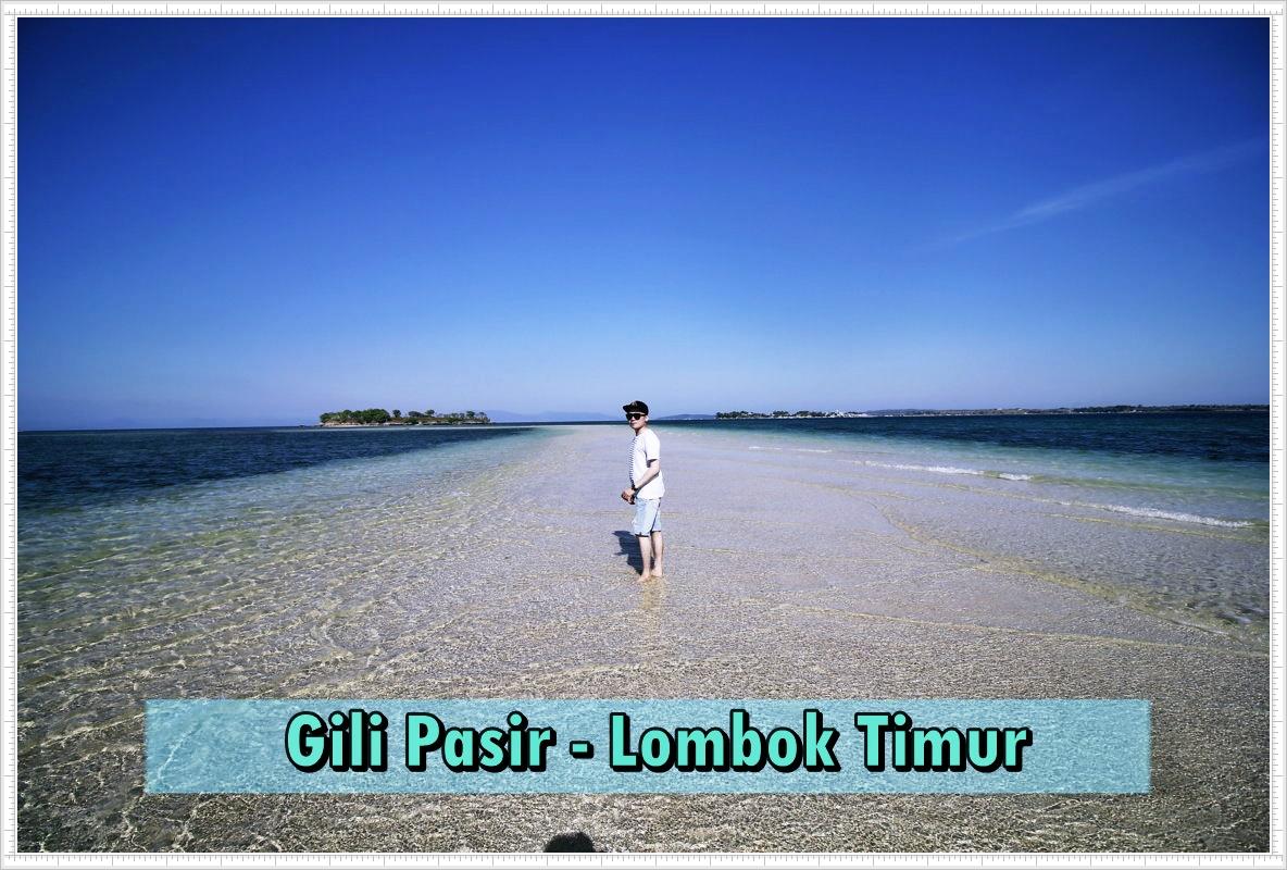 Wisata Pulau Pasir Lombok