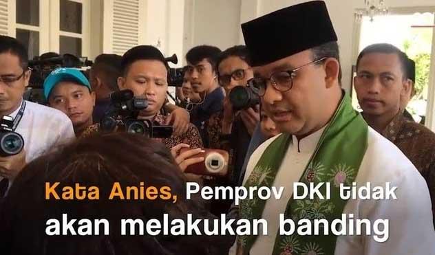Warga Bukit Duri Menang Gugatan, Penuhi Hak Warga Anies tak Ajukan Banding