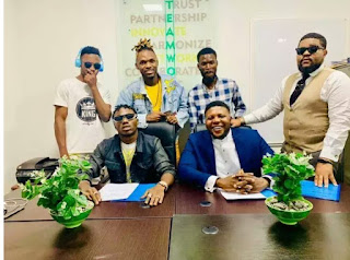 Davolee Officially Joins New Nation Muzik Record Label After Leaving Olamide's Label