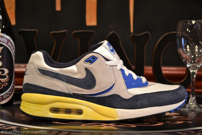 reputable site 48e3c 9a2d7 This Fri 12.16 we will be releasing the Nike Air Max Light Vintage QS in  two OG colorways. A vintage look has been applied to both sneakers by  adding a ...