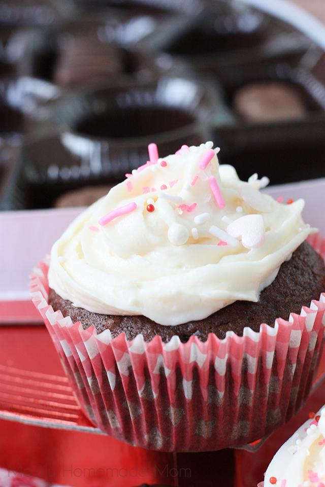 Box of Chocolates Cupcakes recipe