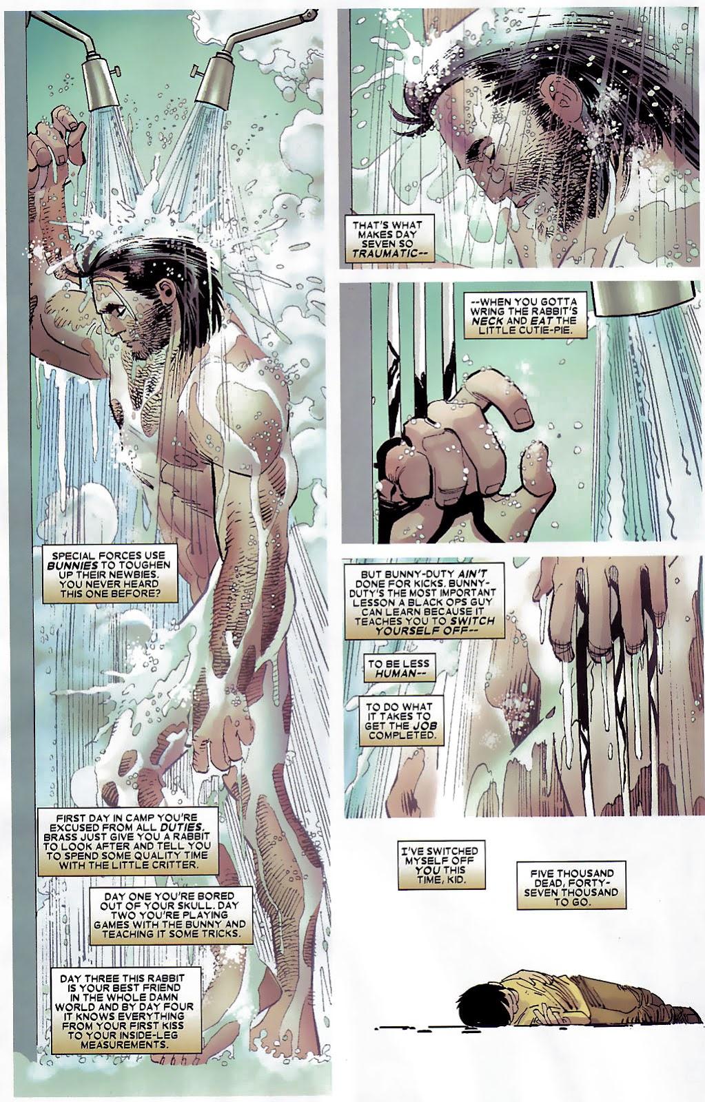 Read online Wolverine (2003) comic -  Issue #30 - 7