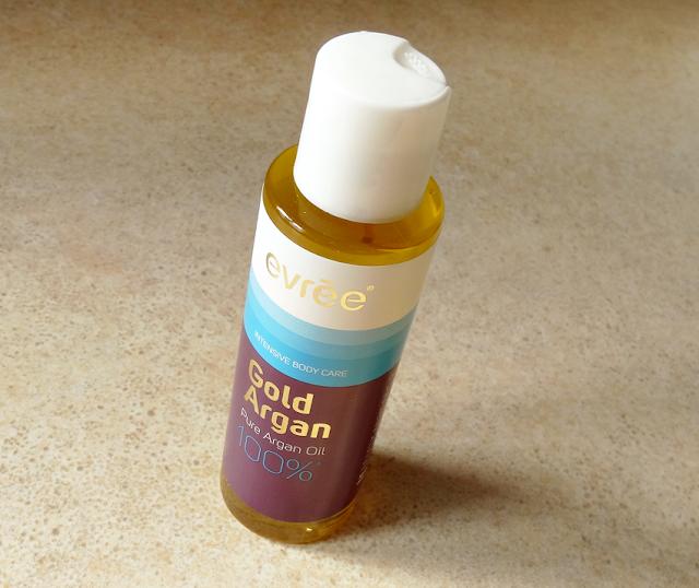 Evree Gold Argan - olejek do ciała