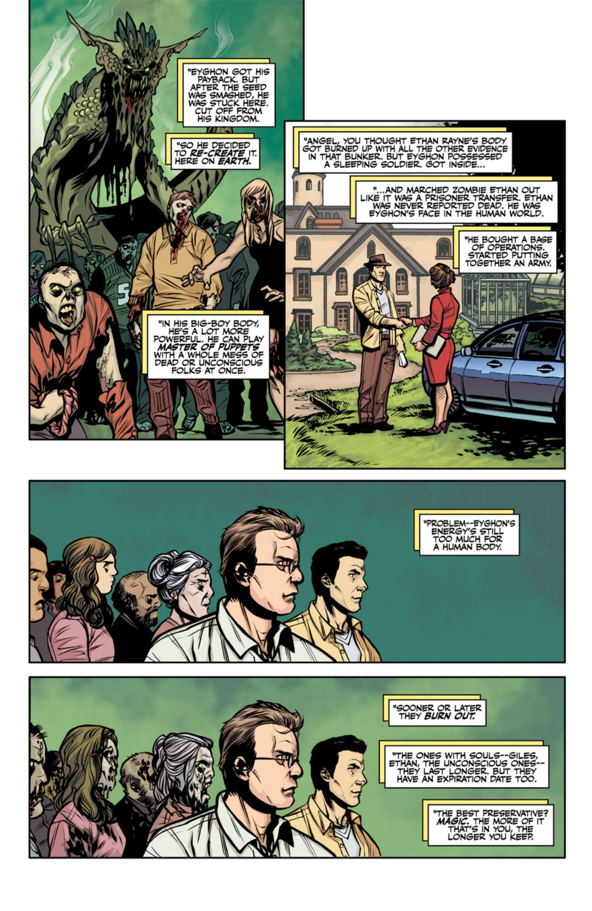 Read online Angel and Faith comic -  Issue #18 - 22