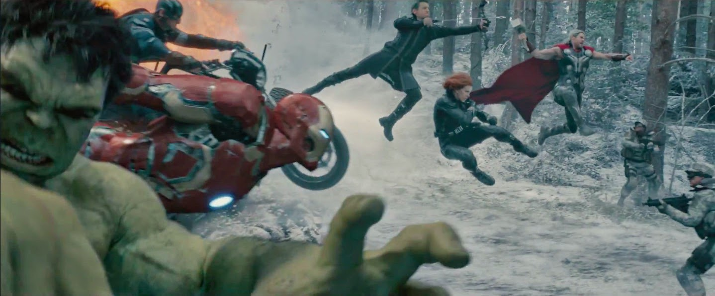Avengers Age of Ultron Team Trailer