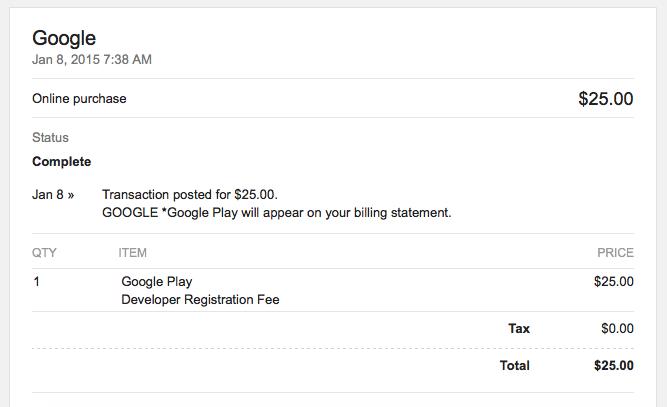 Pengalaman Mendaftar Google Play Developer Console Tanpa