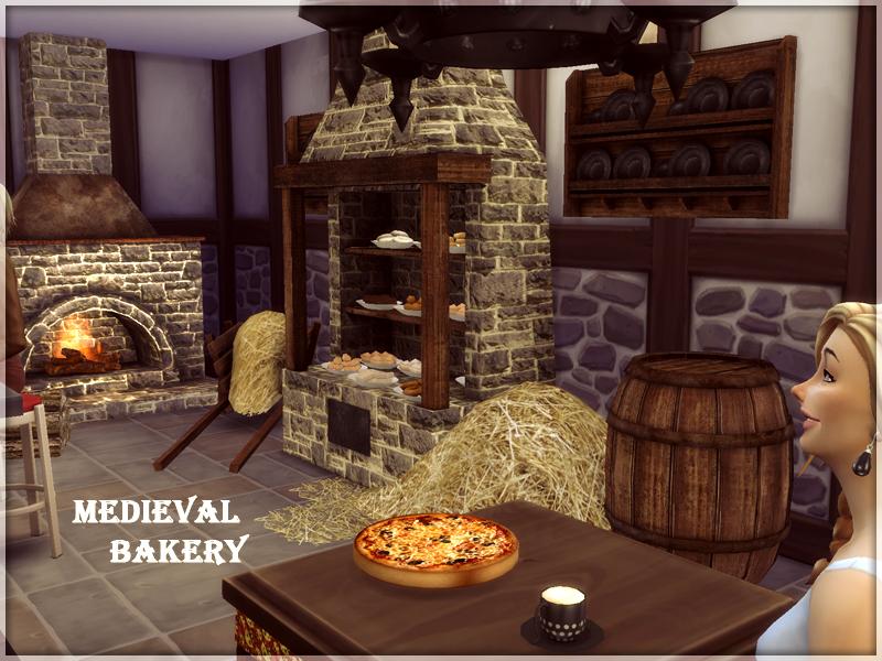 My Sims 4 Blog Medieval Bakery Objects By Kiolometro