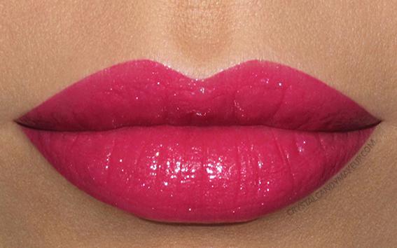 Buxom Shimmer Shock Lipstick Swatch Aftershock