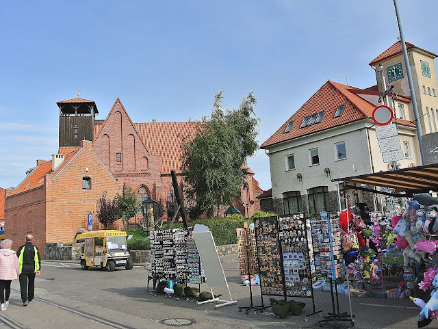 Muzeum Rybołówstwa na Helu, widok na miasto