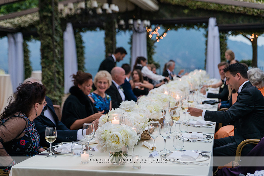 Wedding reception at Villa Eva
