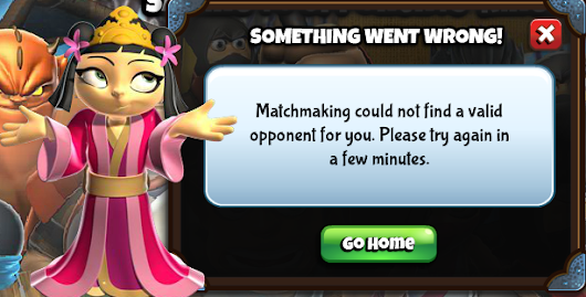 Ninja Kingdom error: Cannot Find Match ~ Scolex Portal