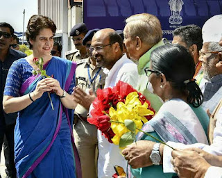 Priyanka Gandhi said if party wants i am ready to contest election from Varanasi