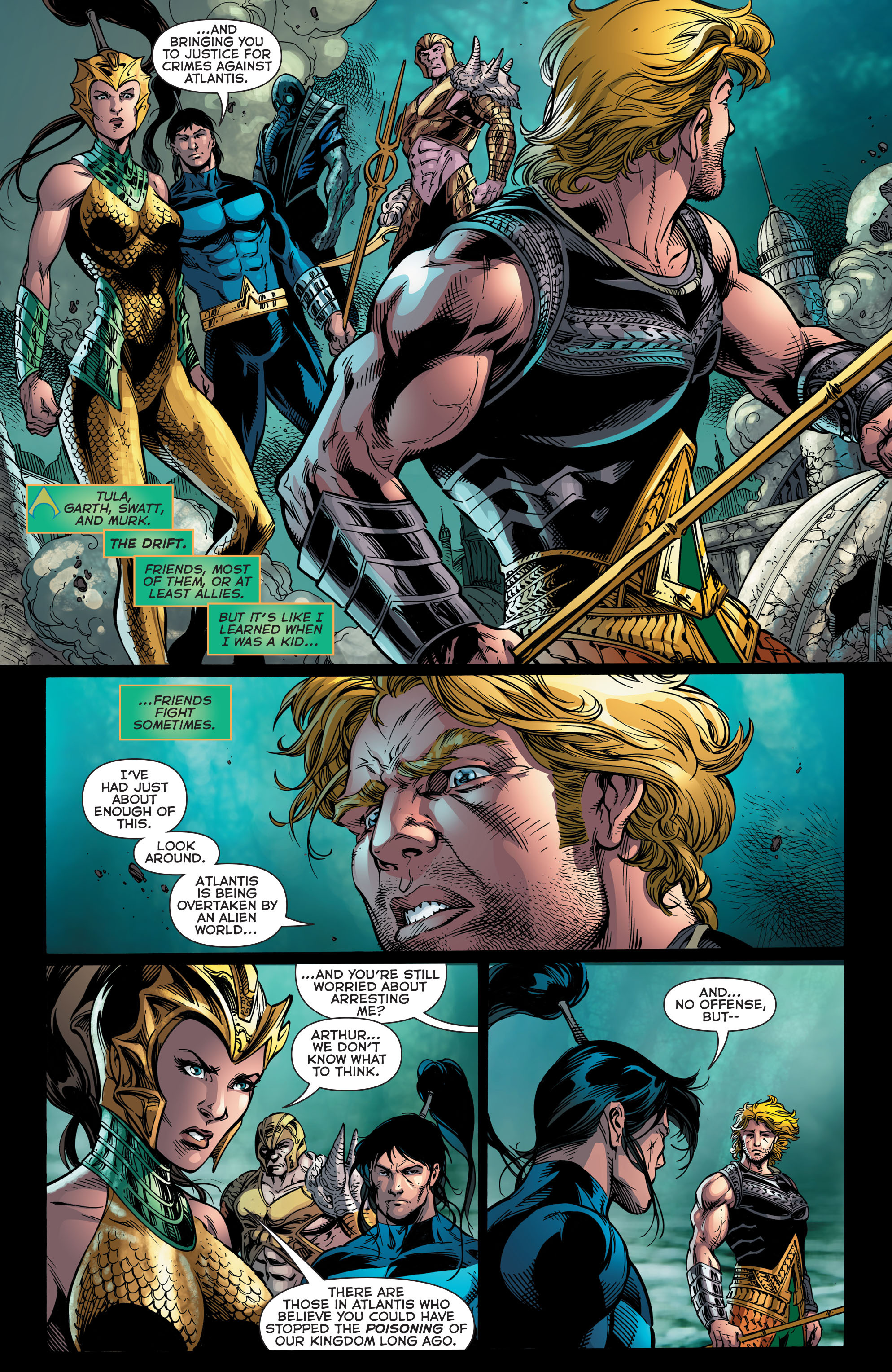 Read online Aquaman (2011) comic -  Issue #48 - 7