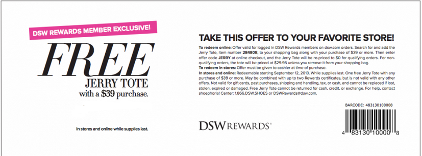 TOP DSW COUPONS