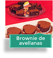 BROWNIE DE AVELLANAS