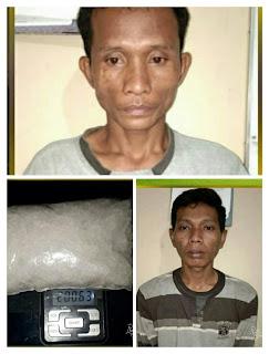 Andre Dan Gatot Kurir Narkoba Berhasil Ditangkap Satres Narkoba Polres OI