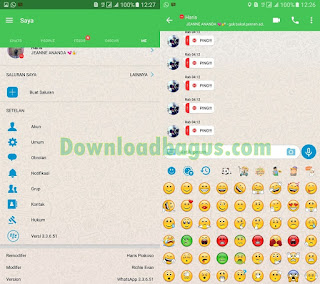 Free Download [BBM MOD] Whatsapp apk v3.3.5.61 [BBMWhatsapp] Richie Evan