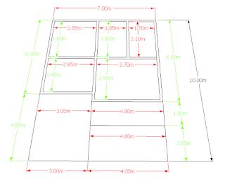 Konsep Desain Rumah Ukuran 10 x 7