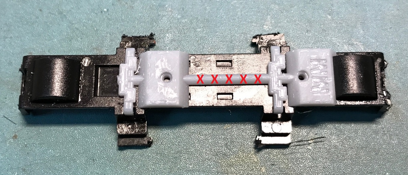 Marbelup Models Db Loco Vitrains Underframe Assembly Tips