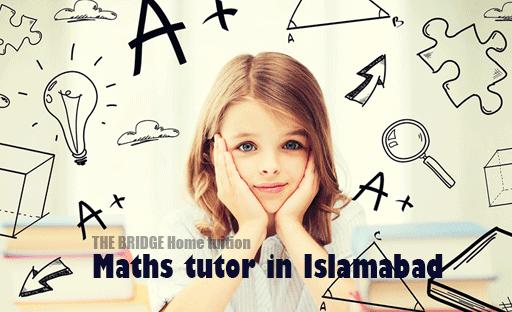 hire a professional math tutor in Islamabad F-10 area