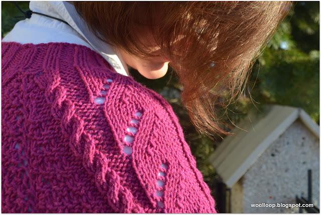 sweter Baśka fuksja
