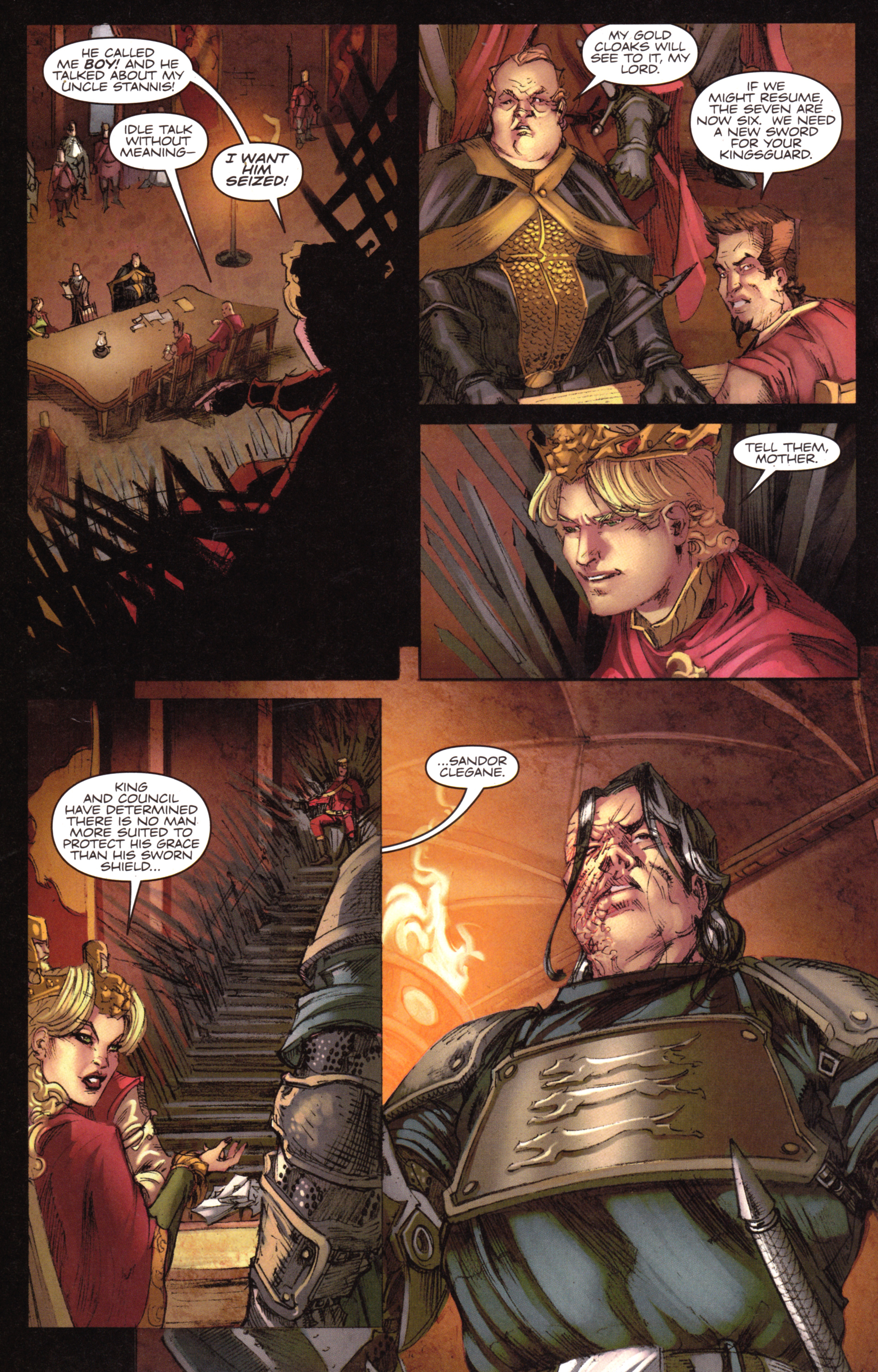 Read online A Game Of Thrones comic -  Issue #18 - 20